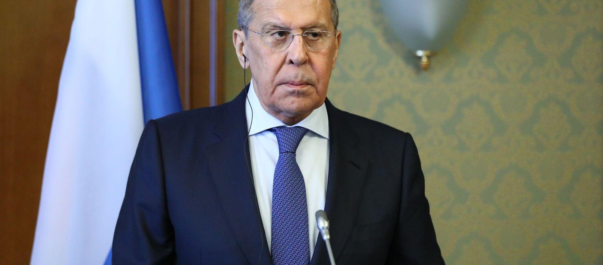 Министр иностранных дел РФ Сергей Лавров - Sputnik Грузия, 1920, 27.04.2021