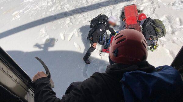 Спасательная операция в горах Сванети - Sputnik Грузия