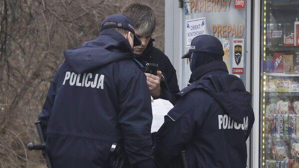 Польская полиция - Sputnik საქართველო