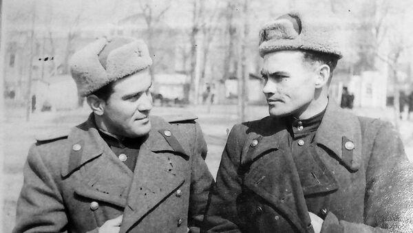 სერგო აღაბაბიანი კოლეგასთან ერთად, 1953 წელი - Sputnik საქართველო