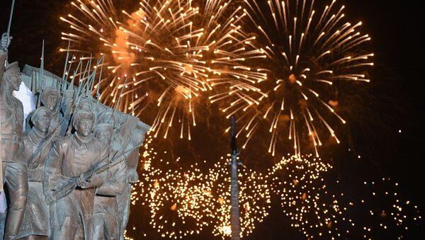 Прямая трансляция - праздничный салют в Москве в честь 76-й годовщины Победы - Sputnik Грузия