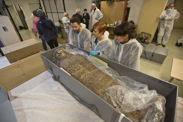 Согласно представлениям древних египтян, тело умершего обязательно нужно было сохранить для его благоденствия в загробной жизни   - Sputnik Грузия