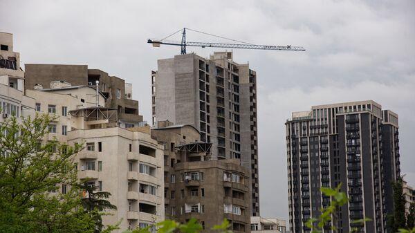 Строительство новых жилых домов - Sputnik Грузия