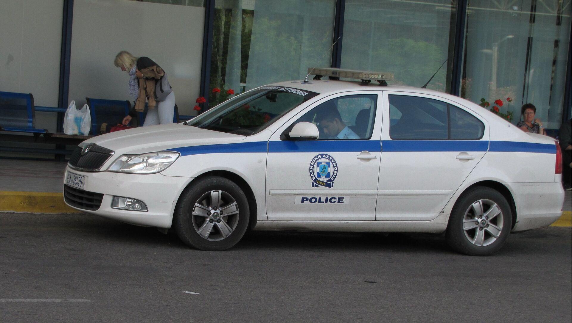 Полиция Греции - Sputnik Грузия, 1920, 19.06.2021
