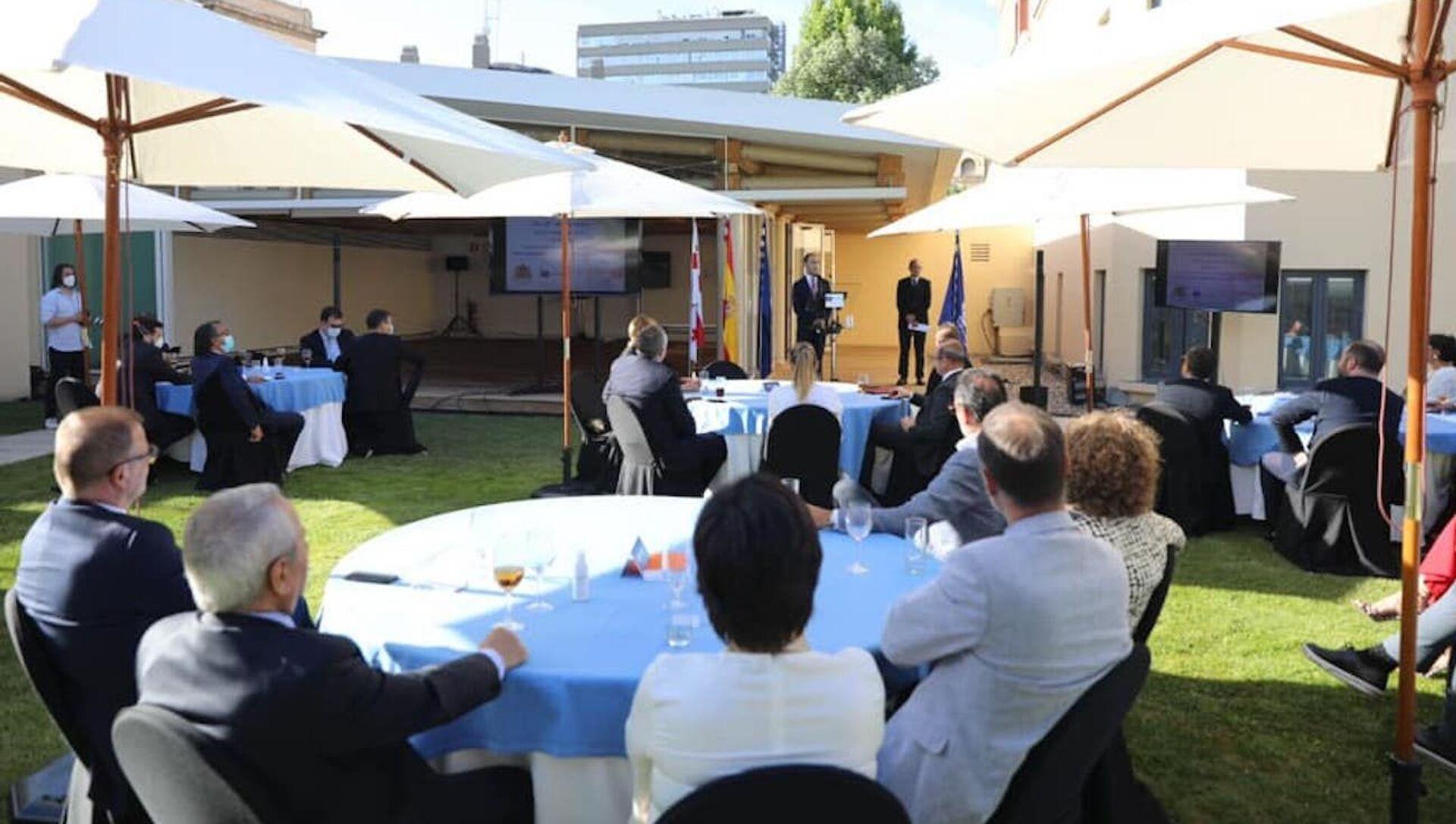 В Испании состоялась презентация грузинских вин - Sputnik Грузия, 1920, 20.05.2021