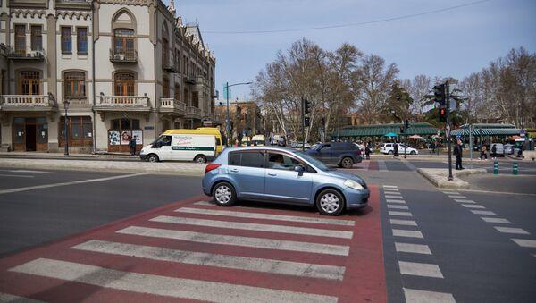 Вид на город Тбилиси - улица Бараташвили - Sputnik Грузия