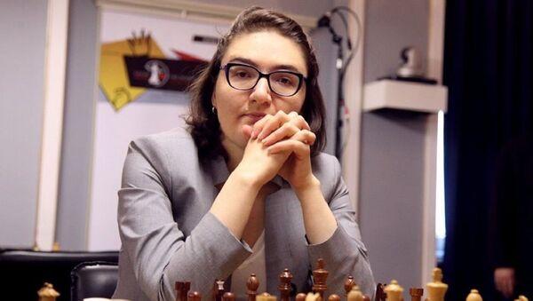 Нана Дзагнидзе (Грузия) во время шахматного турнира претенденток в Казани  - Sputnik Грузия