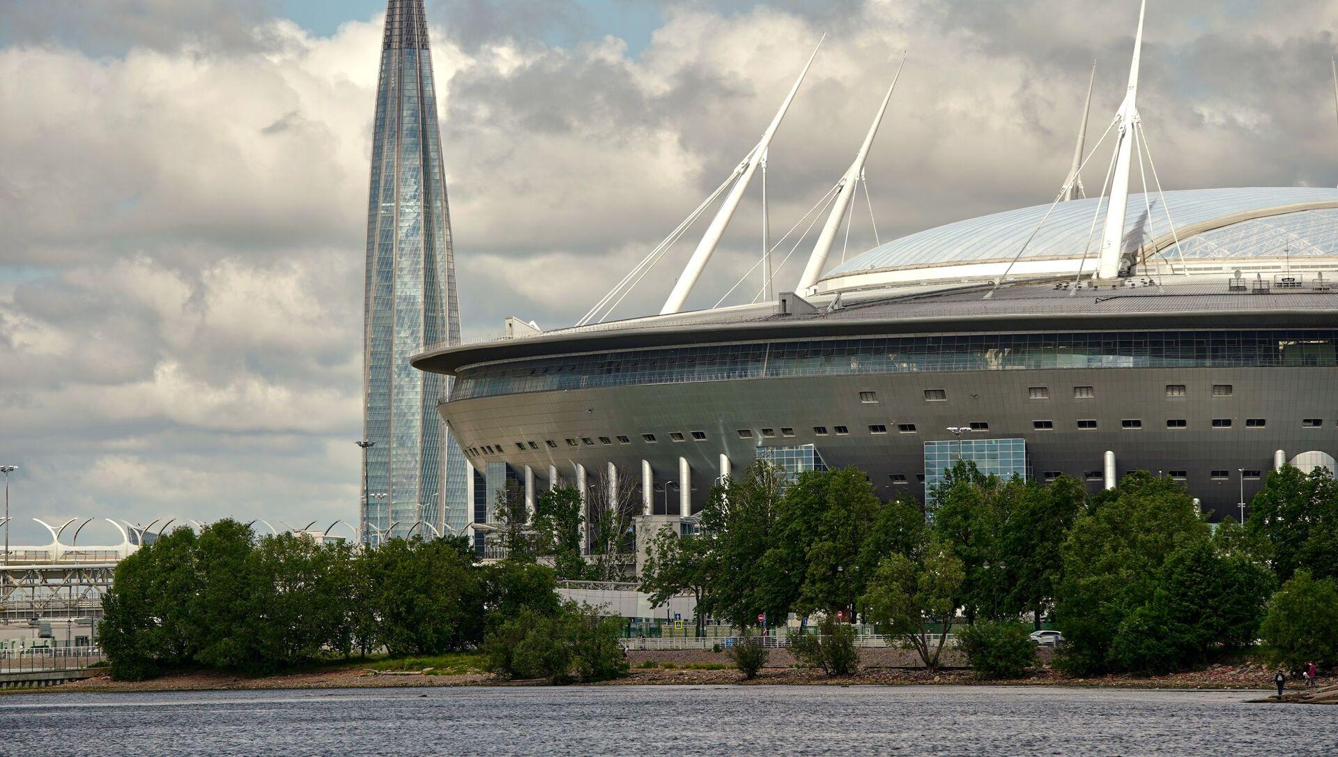 Стадион Газпром-Арена в Санкт-Петербурге - Sputnik Грузия, 1920, 25.05.2021