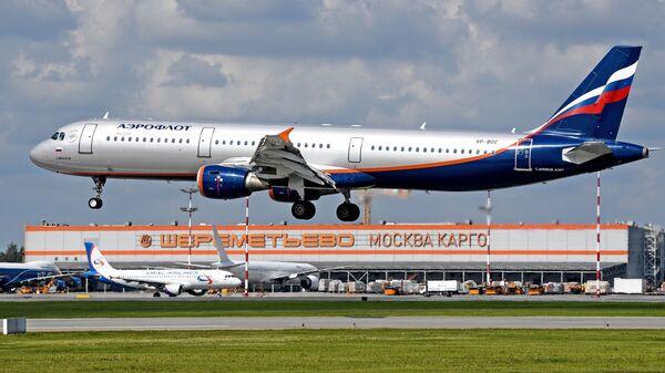 Самолет авиакомпании Аэрофлот - Sputnik Грузия