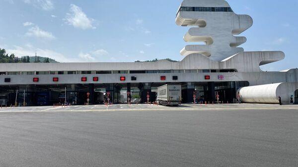 КПП Сарпи на грузино-турецкой границе - Sputnik Грузия