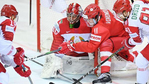 Хоккей. Чемпионат мира. Матч Россия - Белоруссия - Sputnik Грузия