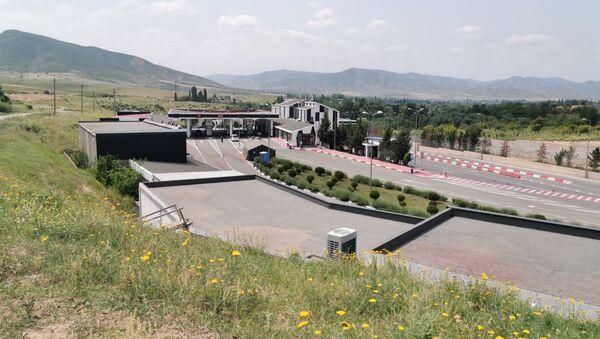 КПП и ТПП Садахло - граница Грузии и Армении - Sputnik Грузия