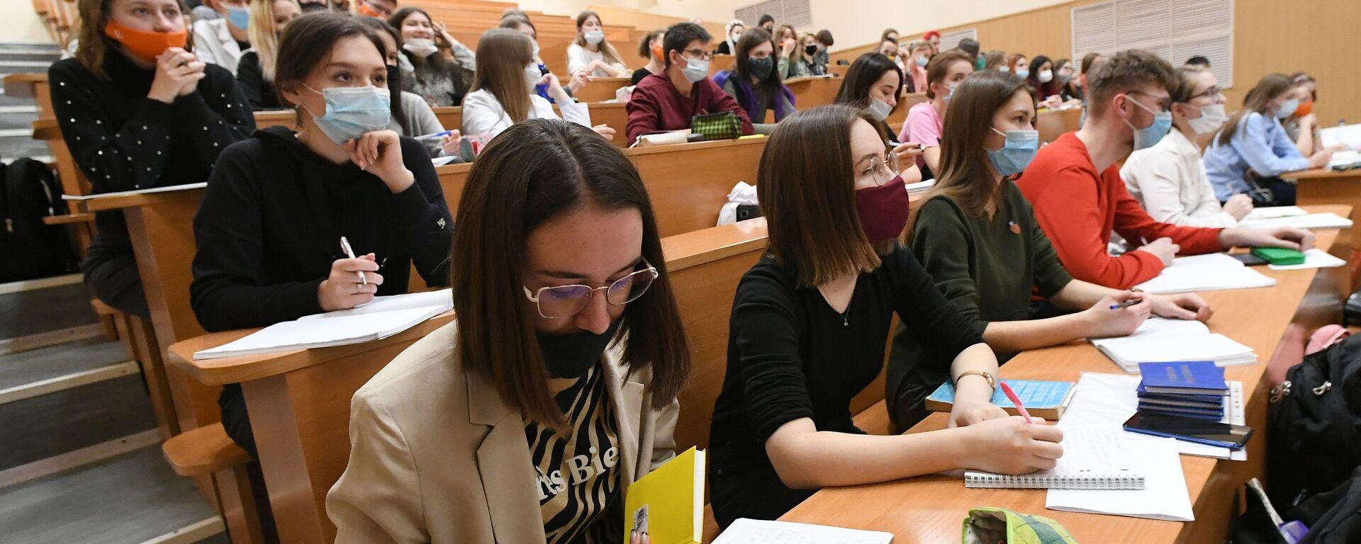 Возобновление очного обучения в вузах - Sputnik Грузия, 1920, 01.09.2021