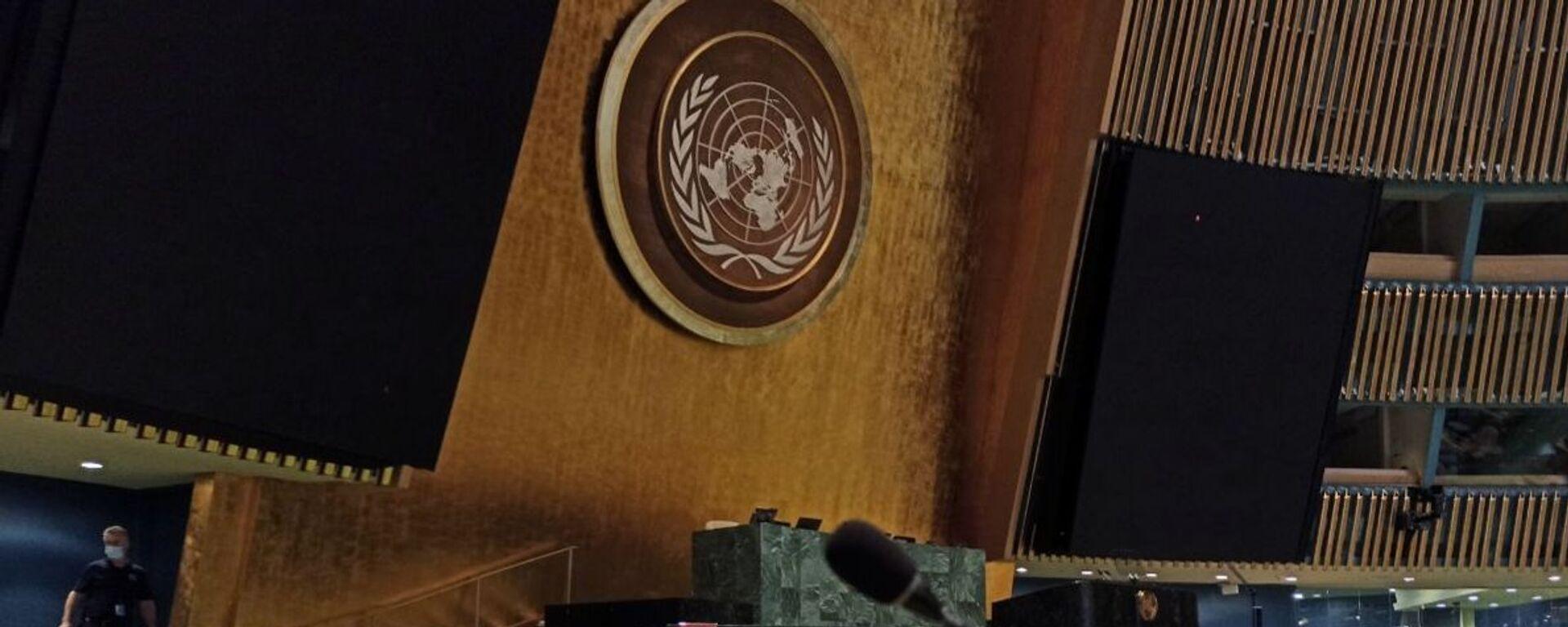 Штаб-квартира ООН в Нью-Йорке - Sputnik Грузия, 1920, 23.09.2021