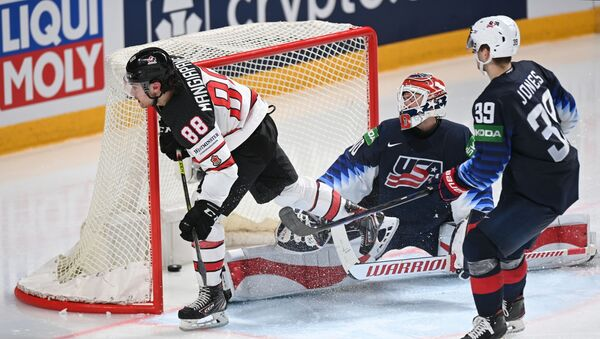 Хоккей. Чемпионат мира. Матч США - Канада - Sputnik Грузия