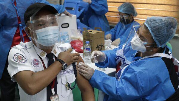Пандемия коронавируса - вакцинация в Китае - Sputnik Грузия