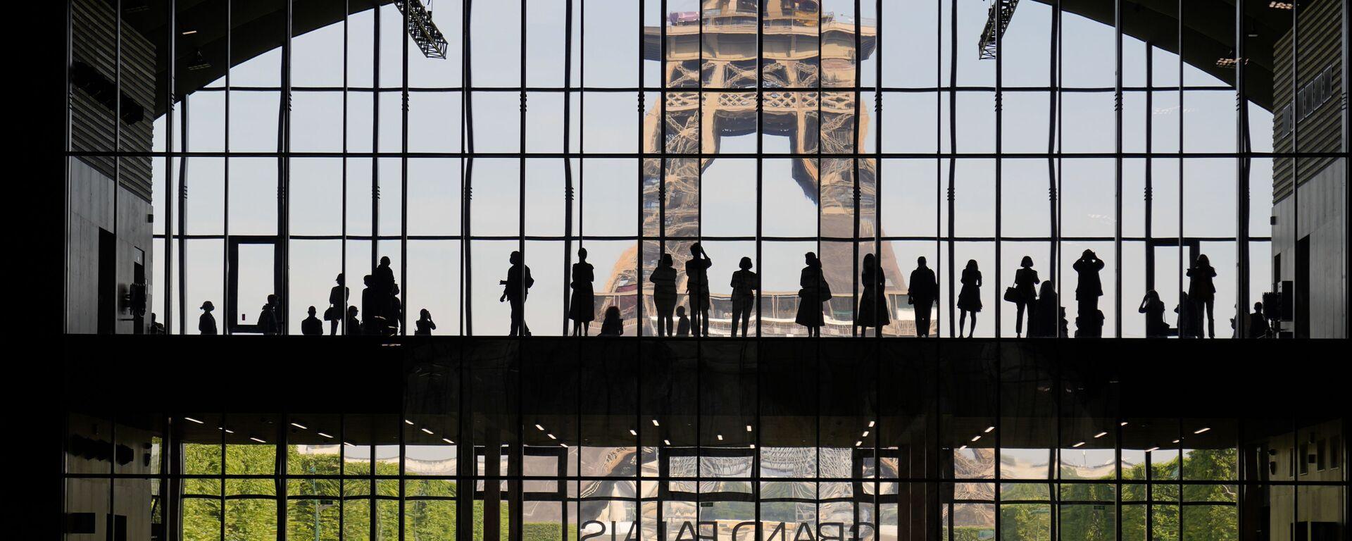 Презентация Большого дворца Ephemere с видом на Эйфелеву башню в Париже - Sputnik Грузия, 1920, 20.09.2021
