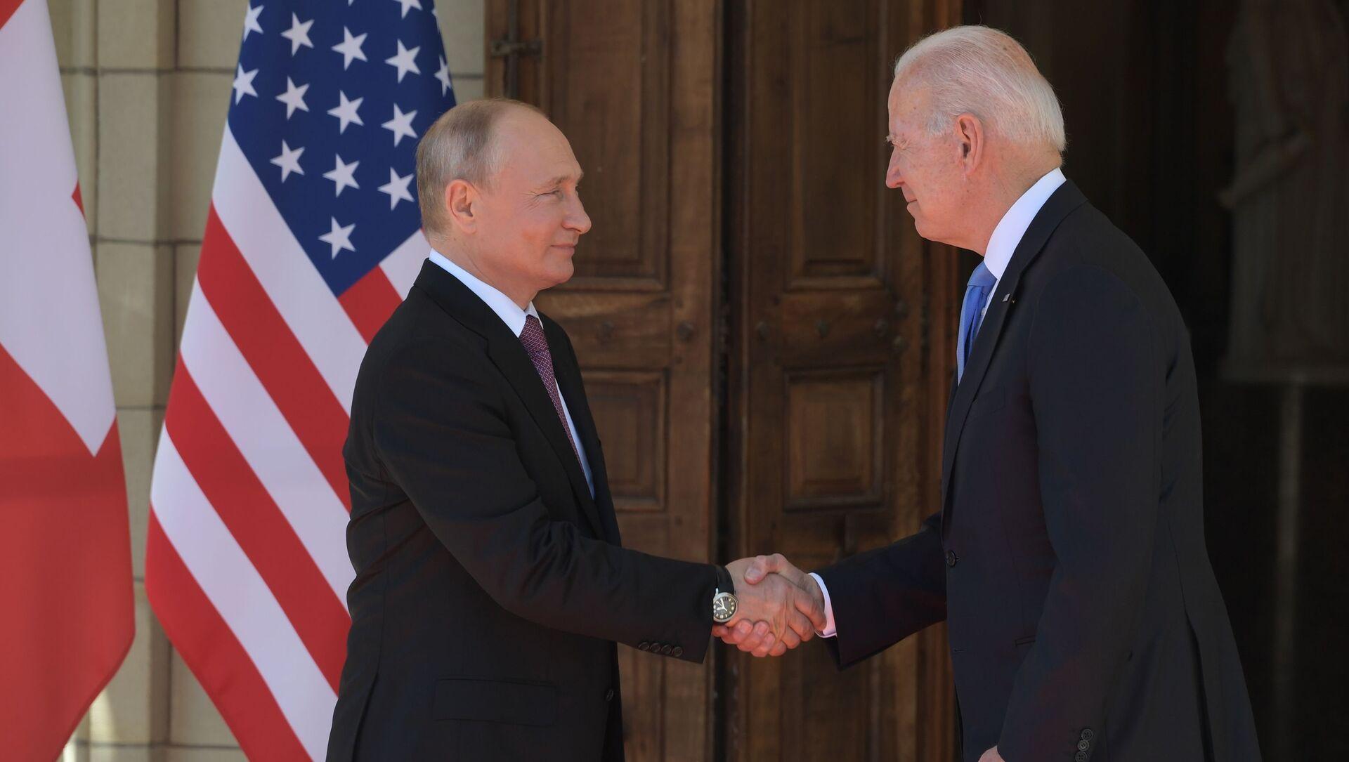 აშშ-ის და რუსეთის პრეზიდენტები - Sputnik საქართველო, 1920, 16.06.2021