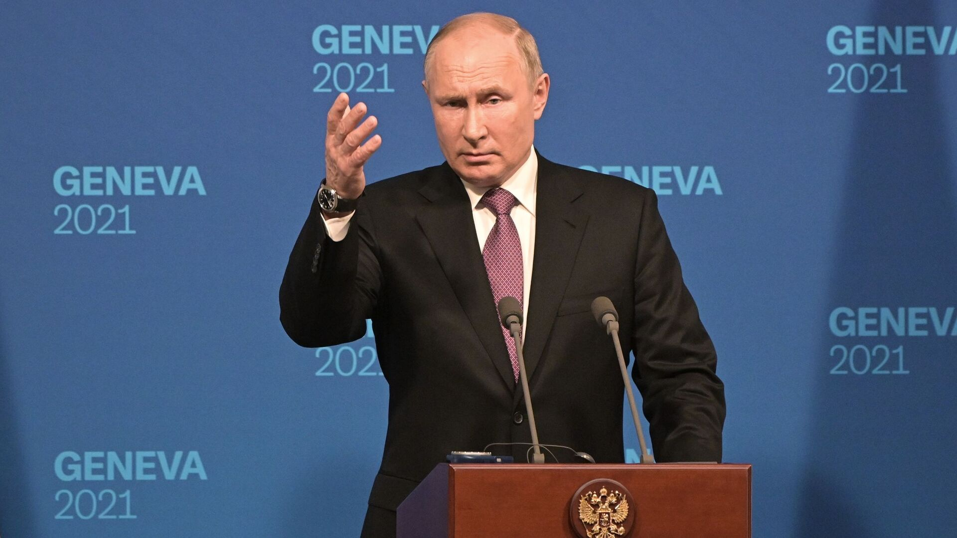 Президент РФ Владимир Путин на пресс-конференции - Sputnik Грузия, 1920, 09.09.2021