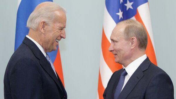 Встреча Владимира Путина с Джозефом Байденом в Москве - Sputnik Грузия
