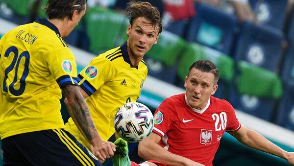 Футбол. ЧЕ-2020. Матч Швеция - Польша - Sputnik Грузия