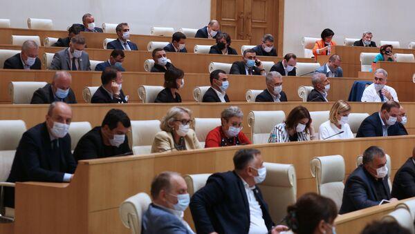 Депутаты в парламенте Грузии  - Sputnik Грузия