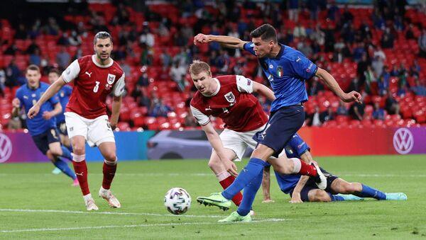 Футбол. ЕВРО 2020. Италия и Австрия - Sputnik Грузия