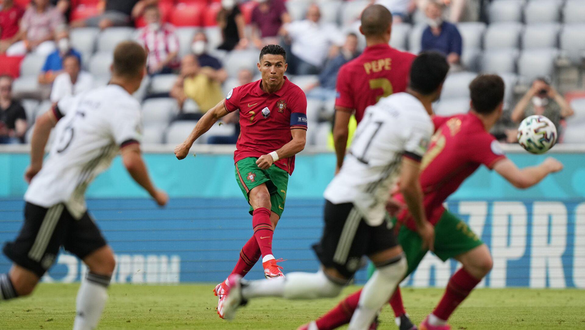Матч по футболу между сборными Португалии и Германии в рамках Чемпионата Европы 2020 - Sputnik Грузия, 1920, 28.06.2021