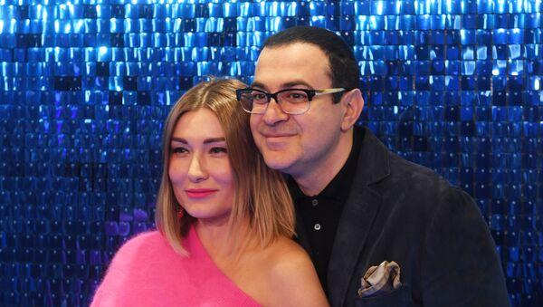 Гарик и Жанна Мартиросян на премьере фильма Лёд 2 - Sputnik Грузия