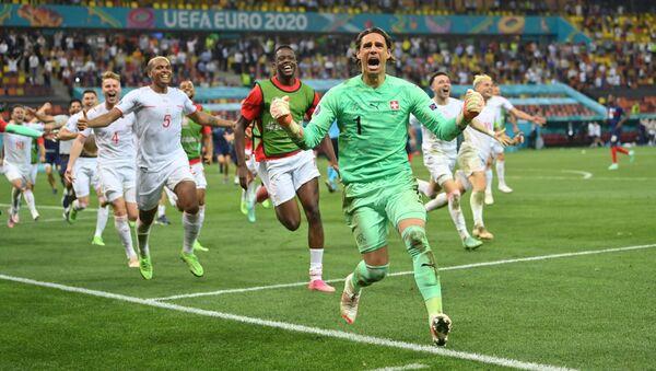 Футбол. ЕВРО 2020. Франция и Швейцария - Sputnik Грузия