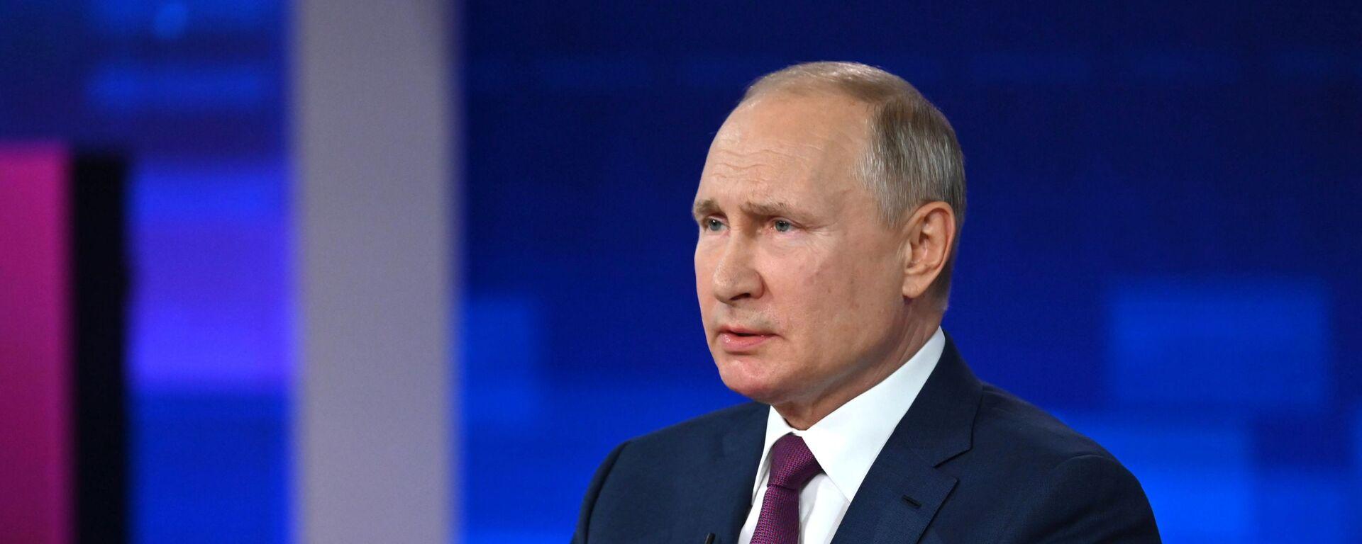 Президент РФ Владимир Путин  - Sputnik Грузия, 1920, 14.09.2021