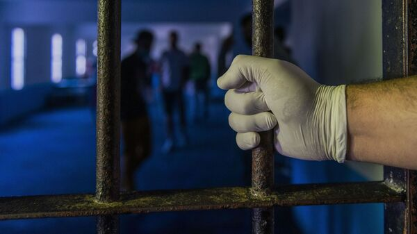 Тюрьма, фото из архива - Sputnik Грузия