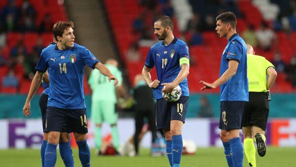 Матч сборных Италии и Австрии в рамках Лиги чемпионов 2020 - Sputnik Грузия