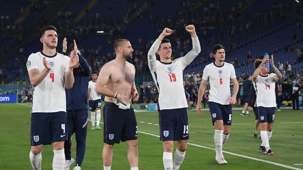 Футбол. ЕВРО 2020. Англия и Украина - Sputnik Грузия