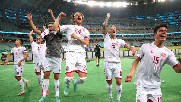 Футбол. ЕВРО 2020. Чехия и Дания - Sputnik Грузия