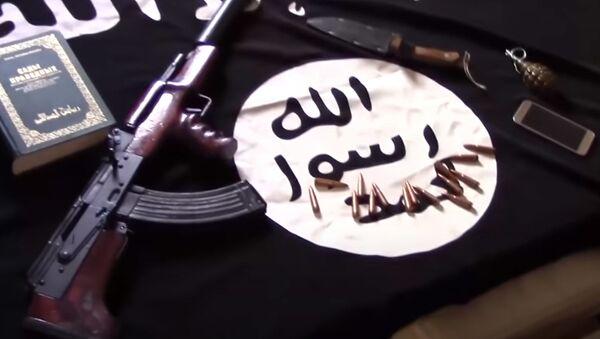 ФСБ предотвратила теракты, которые готовили боевики ИГ* - эксклюзивные кадры спецоперации - Sputnik Грузия