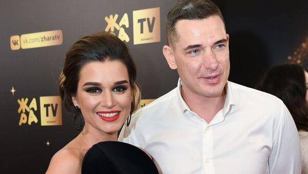 Ксения Бородина с мужем на церемонии вручения музыкальной премии ЖАРА Music Awards - Sputnik Грузия