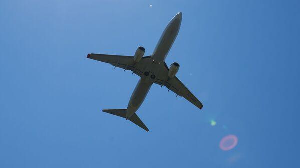Пассажирский самолет в небе - Sputnik Грузия