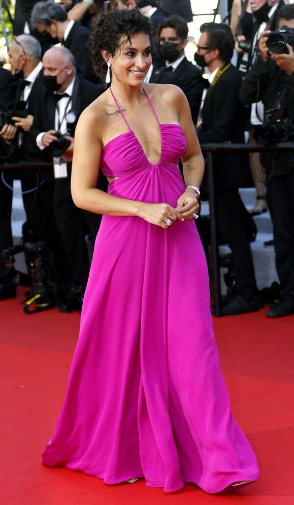 Актриса Камелия Жордана на открытии 74-го Каннского кинофестиваля - Sputnik Грузия