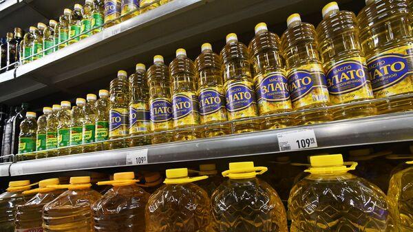 Подсолнечное масло в магазине - Sputnik Грузия