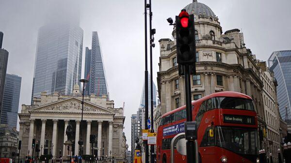 Лондон. Королевский банк и лондонская биржа - Sputnik Грузия