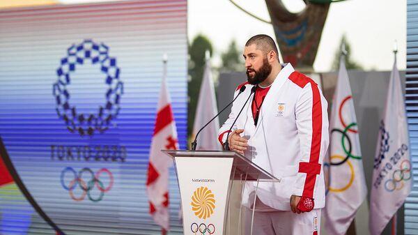 Лаша Талахадзе. Грузинские олимпийцы - Sputnik Грузия