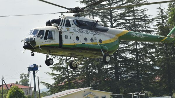 Вертолет пограничной полиции МВД Грузии - Sputnik Грузия