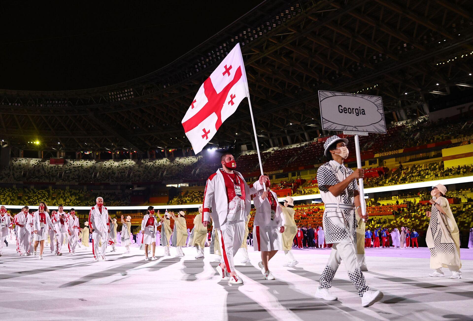 Олимпиада в Токио - грузинская сборная  - Sputnik საქართველო, 1920, 24.08.2021