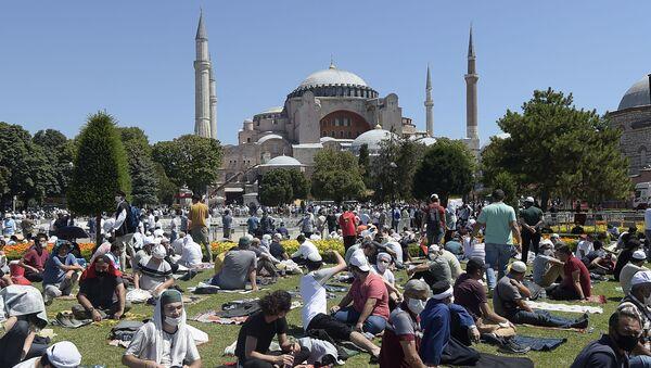 Мечеть Айя София в Турции Истамбул - Sputnik Грузия