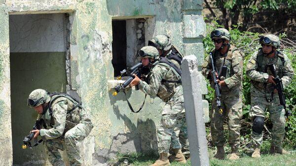 Военные учения НАТО Agile Spirit в Грузии - архивное фото - Sputnik Грузия
