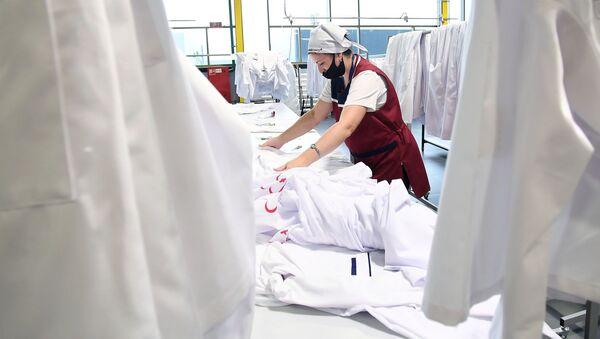 Швейная фабрика - пошив одежды - Sputnik Грузия
