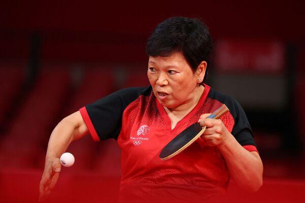ჩინელი სპორტსმენი ნი სიალიანი 58 წლისაა. ის ოლიმპიადაზე ლუქსემბურგის სახელით გამოდის - Sputnik საქართველო