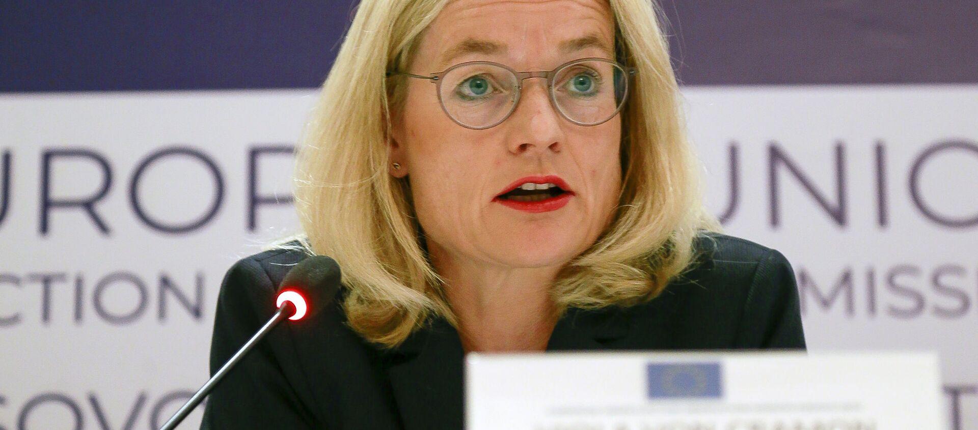 Депутат Европарламента Виола фон Крамон-Таубадель - Sputnik Грузия, 1920, 29.07.2021
