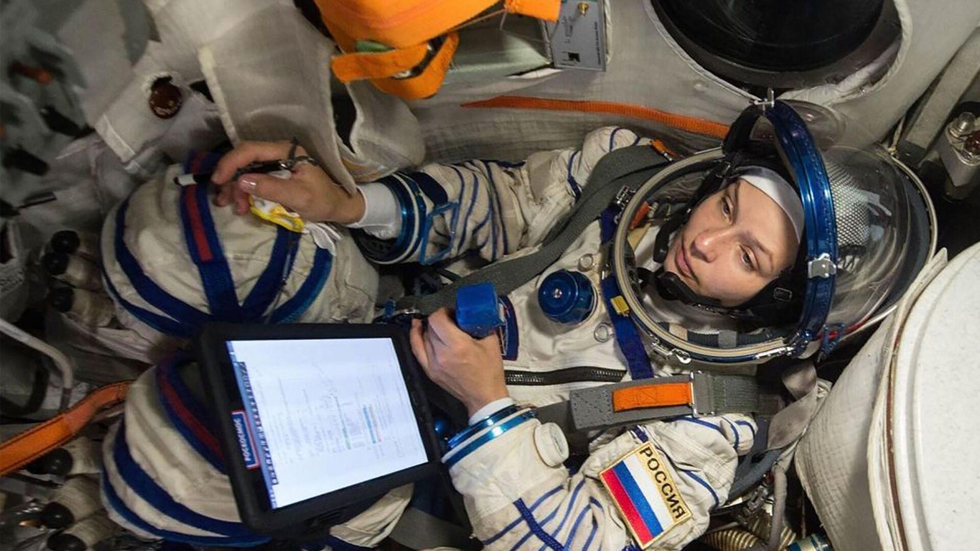 Юлия Пересильд готовится к полету на МКС - Sputnik Грузия, 1920, 04.10.2021